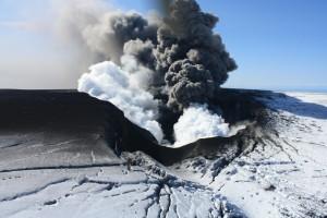 Erupción del Volcan Eyjafjallajökull  en Islandia: Estado actual al 28 abril 2010