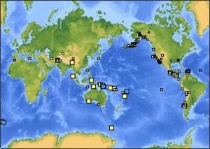 REPORTE SISMOLOGICO MUNDIAL: 22 DE ABRIL 2010, DIA TRANQUILO