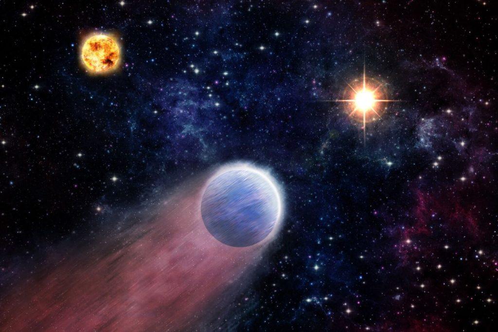 Resultado de imagen de Descubren un planeta cerca de un agujero negro